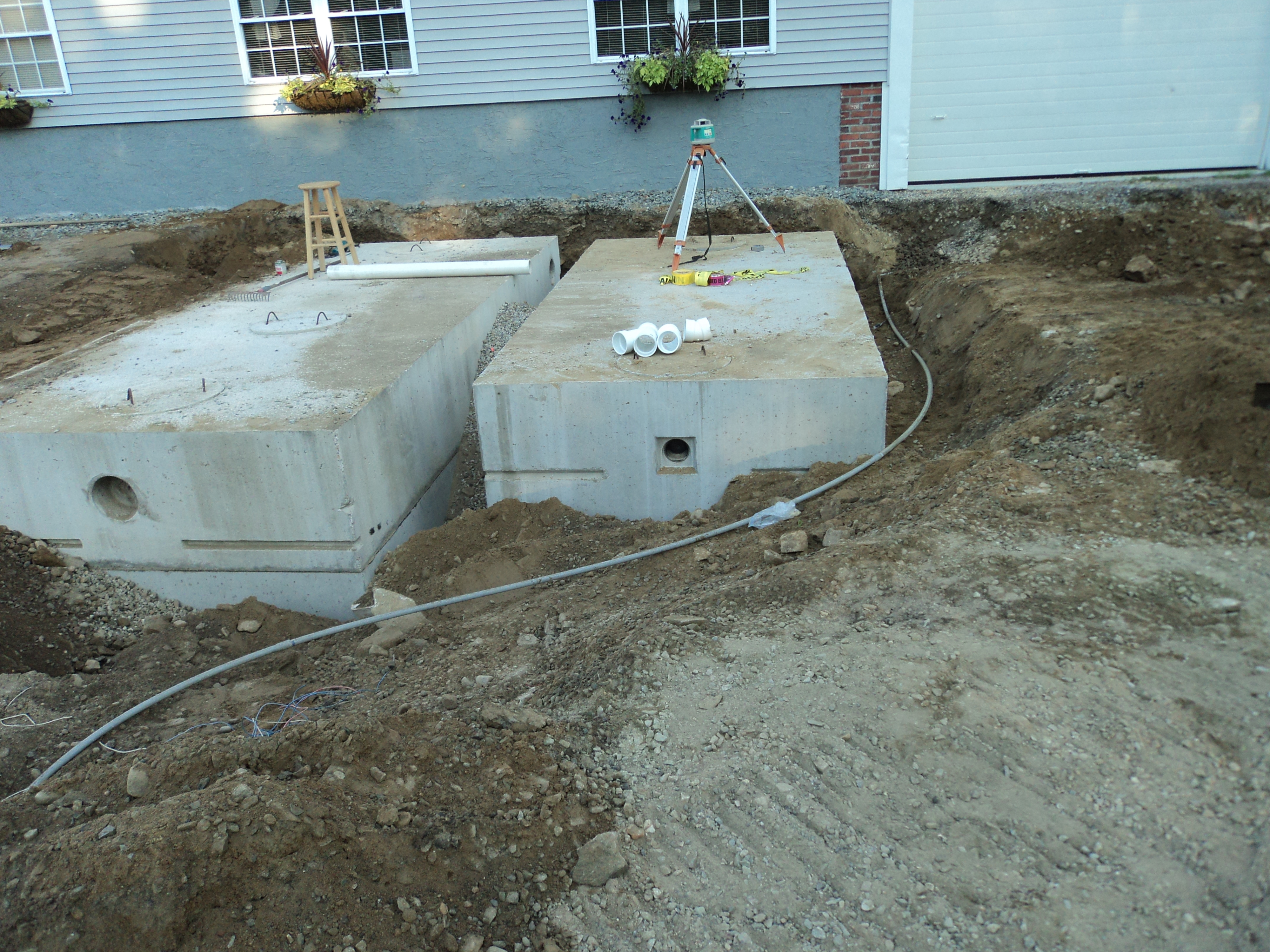 View Septic Installation project files