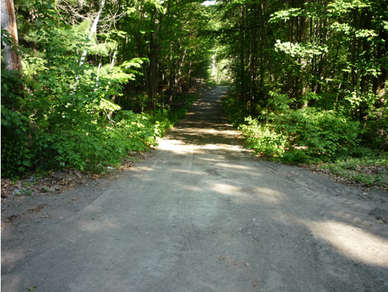 View Spread, grade, and roll recycled asphalt for a driveway in Sandown, NH files