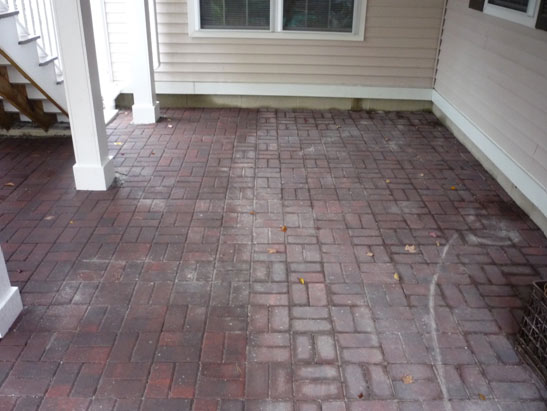 View Dig out, Prep, and Install a Belgard Paver, red brick patio in Exeter, NH files