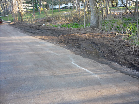 View Roadside brush cleanup in Haverhill, MA using a skid steer files