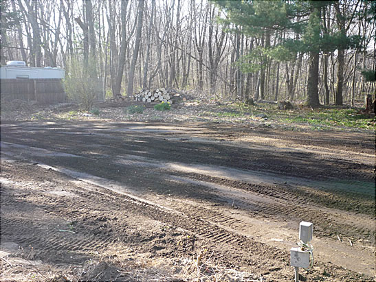 View Spread and Grade loam in Haverhill, MA using a skid steer files